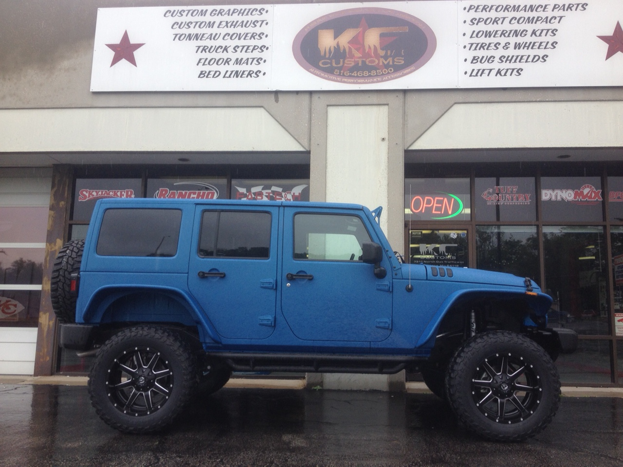 2015 Jeep Wrangler Camolined 4inch Lift